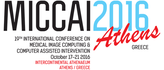Cancer Center are going to the MICCAI 2016 in Athens